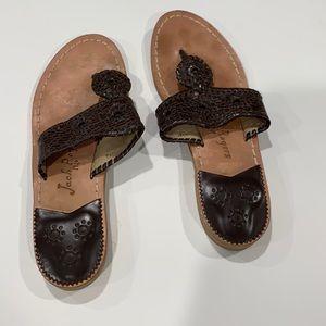 Jack Rogers • Dark Brown Sandals